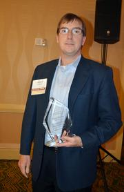 Outstanding Corporate Counsel - Private Company winner Chris Matton of Raleigh-based Bandwidth.com