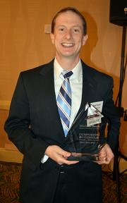Rising Star winner Michael Youth of Raleigh-based N.C. Sustainable Energy Association.