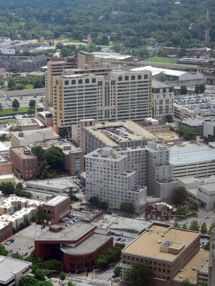 Grady: Its board is working with the Omaha, Neb.-based health-care architect and engineering firm HDR.
