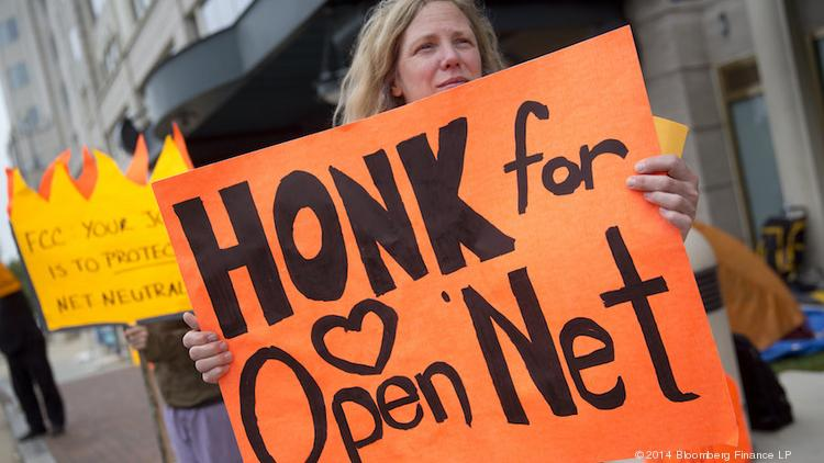 Honking was a better way to communicate your views on net neutrality to the FCC Tuesday than the commission's website, which couldn't handle the surge of comments on its proposed rule.