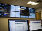 Edgenuity's control center, which monitors traffic across the country.