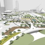 Upscale amenities, public art envisioned for new Lakefront Gateway parks