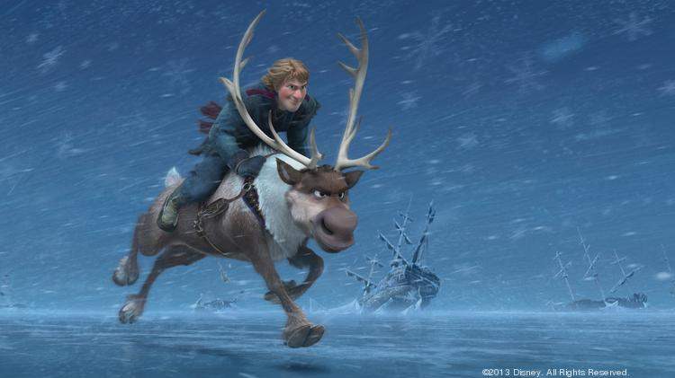 """For the seventh time in eight weeks, """"Frozen"""" led overall disc and Blu-ray sales on home video."""