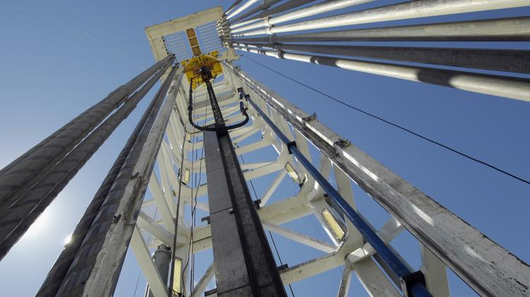 Noble Energy Inc.'s horizontal well near Grover, Colorado, started drilling on Aug. 29, 2010, into the Niobrara formation thousands of feet underground in a search for oil.