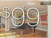 Per-night cost to rent this Plaza apartment listed on Airbnb