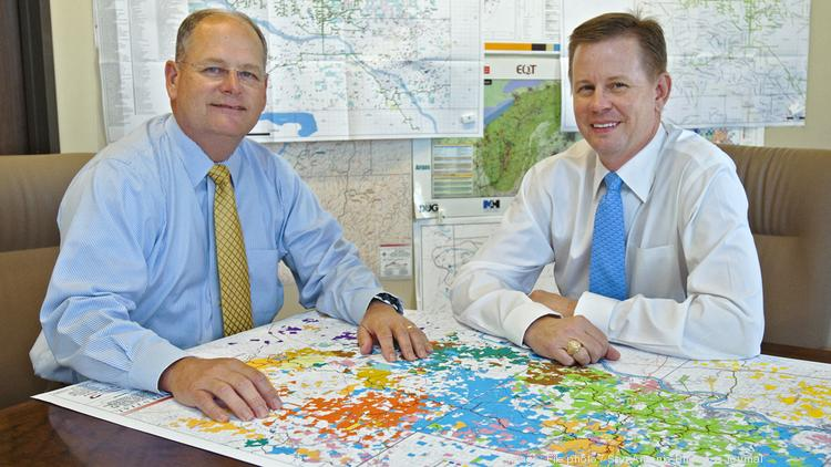 EnCap Midstream, led by managing partners including William Waldrip (left) and William Lemmons Jr. (right), has closed its third equity fund.