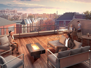 The Peterson Co.'s Ontario 17 will include a rooftop deck overlooking the Adams Morgan neighborhood.