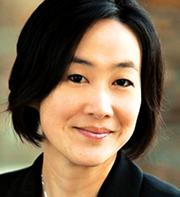 Ann Lee-Karlon, Senior vice president, portfolio management and operations, Genentech. Female role model: Dr. Sue Desmond-Hellmann. Surprising fact about you: Went sky diving in Europe. Dream super power: Time travel.