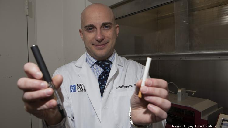 Too many unknowns about e-cigarettes according to research by Roswell Park's Maciej Goniewicz.