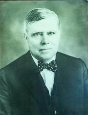 Submitted photograph of George C. Bedell, who along with Colonel Horatio Bisbee formed Bisbee & Bedell in 1898. It is Florida's oldest law firm in continuous existence.
