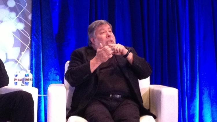 When Apple co-founder Steve Wozniak spoke to employees of Smith & Associates LP, a Houston-based distributor of electronics components celebrating its 30th anniversary, the crowd couldn't help but pick his brain about where technology is heading.