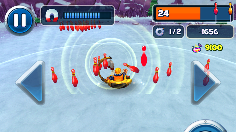 Polar Bowler is one of WildTangent's most popular games. The Redmond-based company is the largest mobile games network in the nation, says comScore.