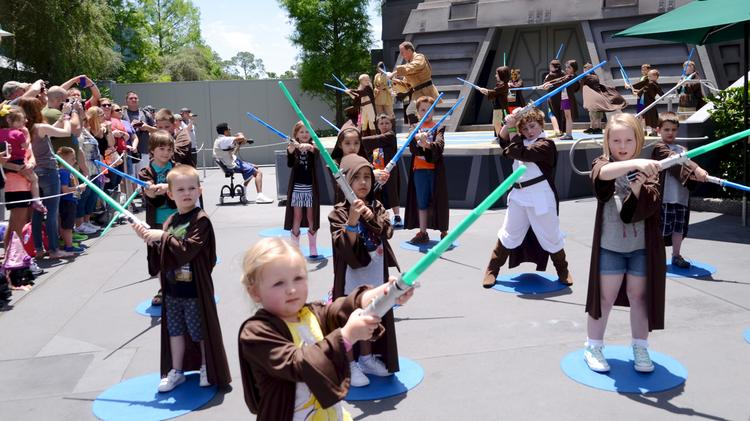 The Jedi Training Academy is one of the permanent Star Wars attractions at Disney's Hollywood Studios. Plans for a Star Wars-themed land at the park have been in the works for some time.