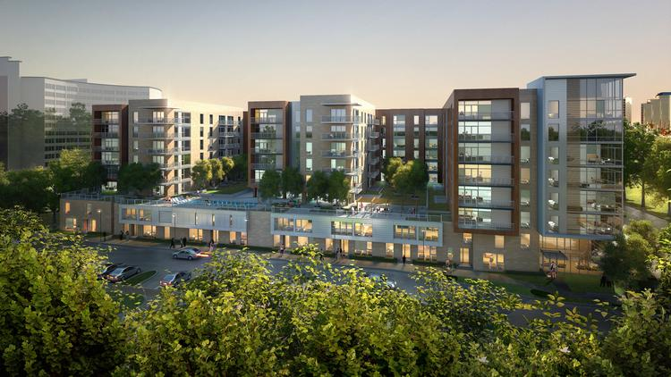Houston-based Midway Cos. began site preparations for the multifamily building it's planning at its mixed-use Kirby Grove project. Houston-based Munoz Albin Architecture & Planning Inc. is designing Avenue Grove.