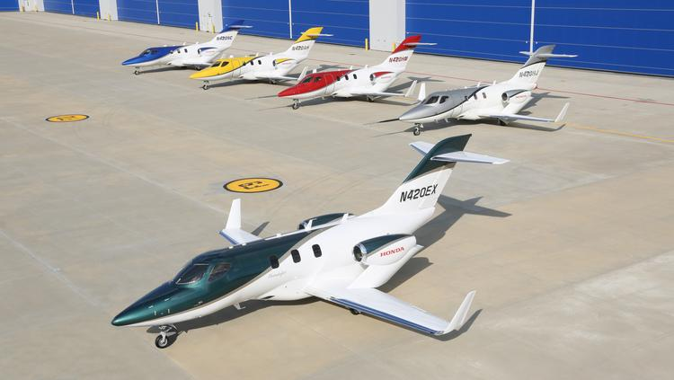 Officials from Honda and TIMCO will be featured at the second annual Global Opportunities Summit Aug. 19. Pictured here is the first production HondaJet aircraft.