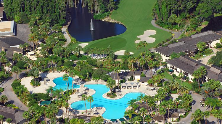 Aerial of Saddlebrook Resort
