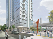 The tower at 41 Tehama will include 700 square feet of retail.