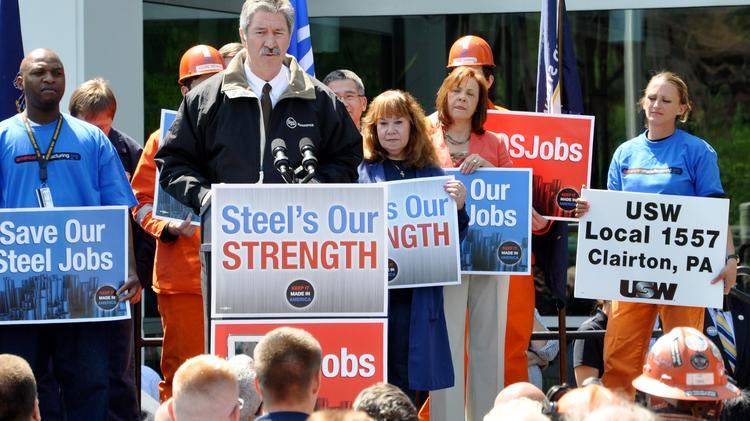 Mario Longhi, CEO of U.S. Steel, said tens of thousands of jobs are at risk if the Department of Commerce does not take action on unfair imports.