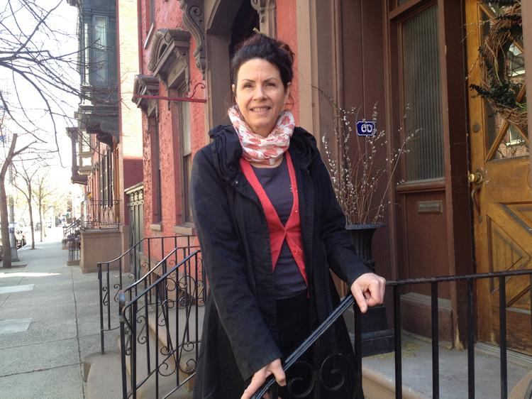 Kathe Kennedy, owner of Indigo Organic HairSpa in downtown Troy, NY, is moving the business to the home she bought at 60 Second St. The house was built by the Hart family in 1822 and is across from the Hart-Cluett mansion, home to the Rensselaer County Historical Society.