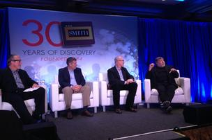 Steve Wozniak with Smith executives