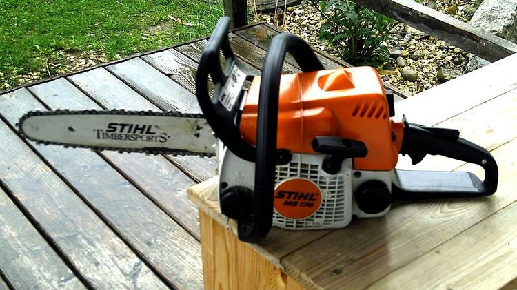 Chainsaw lessons are some of the hardest lessons to learn. See cautionary tale below.