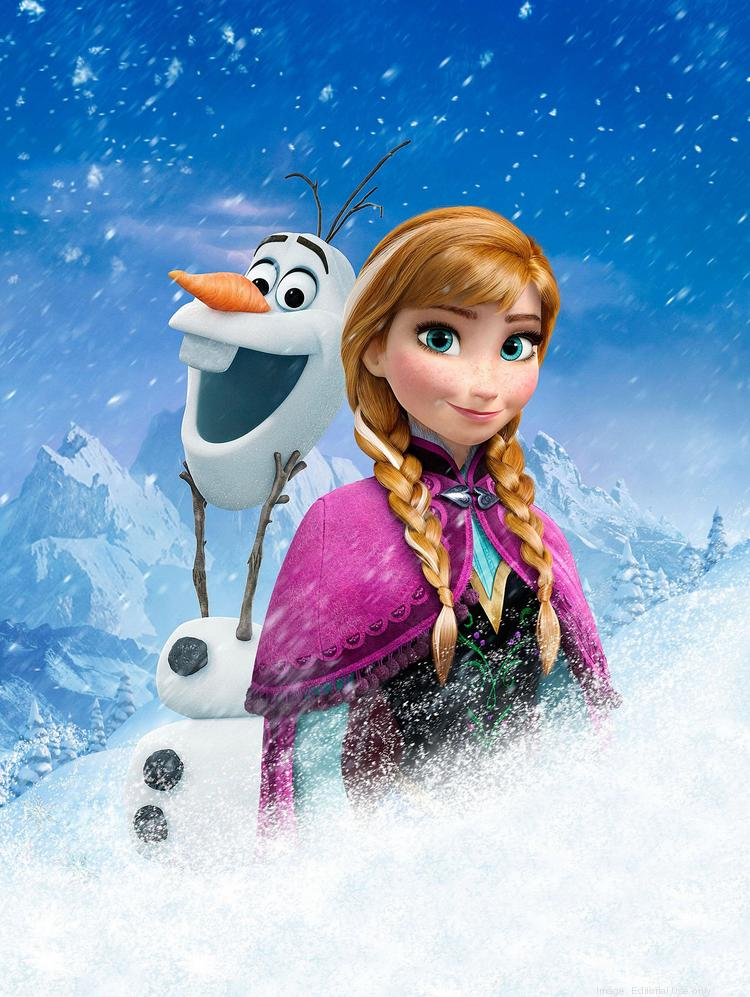 """A Disney on Ice show based on the film """"Frozen"""" is drawing huge ticket sales for its October run at the Baltimore Arena."""