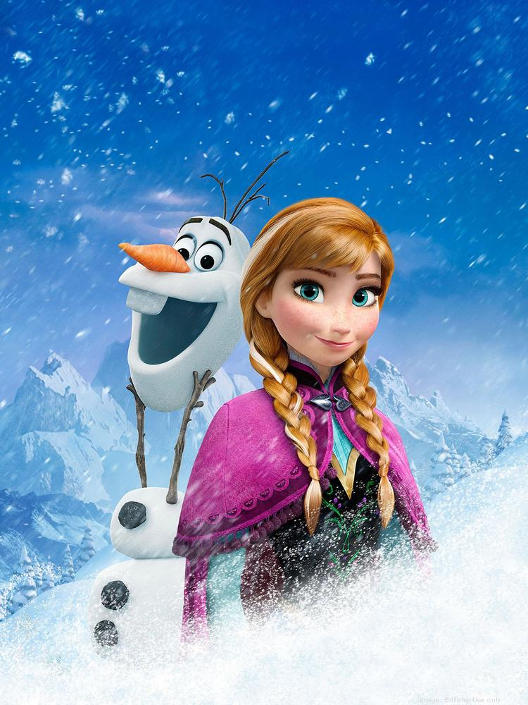 The Frozen celebration will feature characters from the animated movie as  well as ice-themed activities.