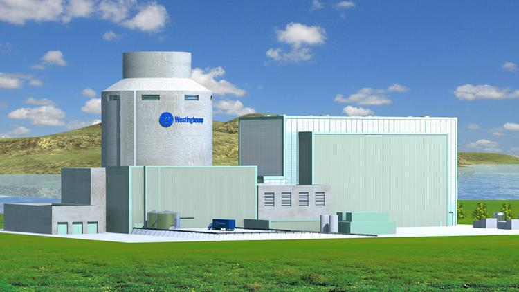 Westinghouse Electric Co.'s AP1000 nuclear reactor.