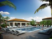 A rendering of the clubhouse for the Central Parc community in Tamarac.