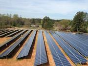 OCI's solar array for Georgia Power is located about 100 miles from Atlanta.