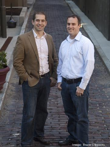 Dave Knox, left, is one of the founders of The Brandery. At right is Mike Bott, general manager.