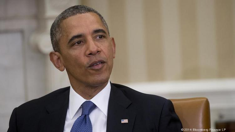 President Barack Obama is seen at the White House in this 2014 file photo from Bloomberg. A member of the Barack Obama Hawaii Presidential Center Initiative tells PBN that the group will be submitting a proposal to locate a presidential center in Honolulu by the June 16 deadline.