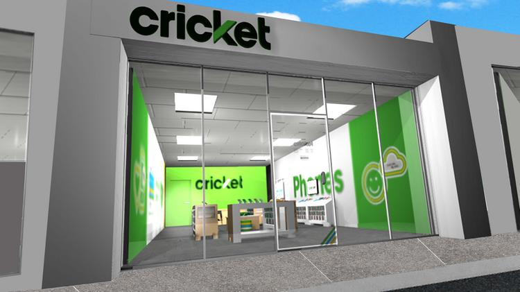 As these renderings show, the new Cricket store design has a brighter and more open layout than the previous Cricket locations.