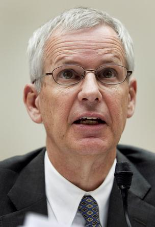 Charlie Ergen, chairman and co-founder of Dish Network Corp., speaks during a congressional hearing on June 27, 2012.