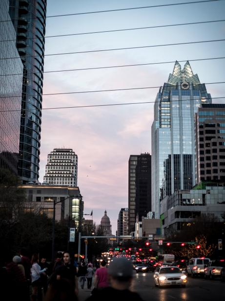 Austin, Texas is often compared to Raleigh in terms of demographics and economic output.