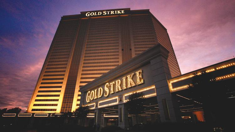 MGM could begin chartered flights this June to its Gold Strike casino in Tunica, temporarily offsetting the loss of charters from the closure of Harrah's.