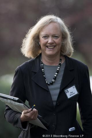 Meg Whitman, HP (Bloomberg)