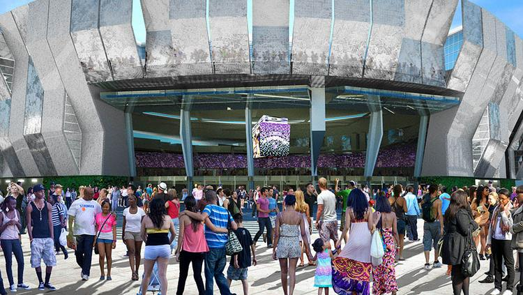 """Sacramento Kings officials know that liking the new downtown arena is just as important as """"liking"""" it on social media. So now the Kings have created new social media profiles for the future Entertainment and Sports Center."""