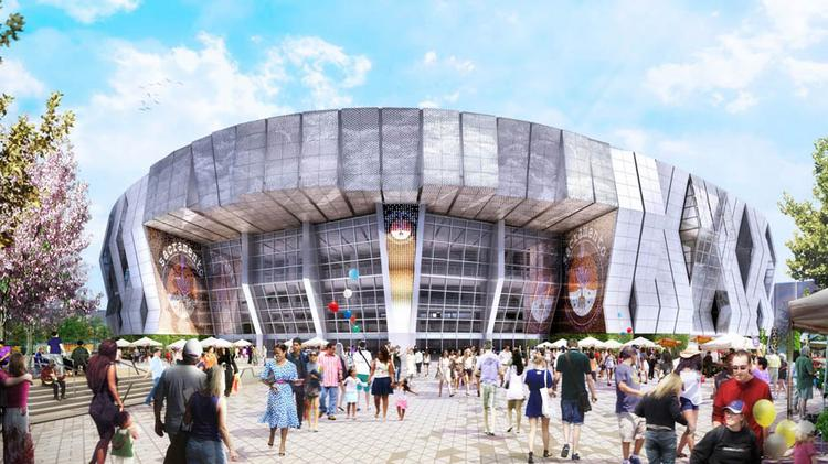 On the heels of the city council vote to approve a financing deal for the downtown arena, the Sacramento Kings released a series of new renderings of what the arena, inside and out, will look like.
