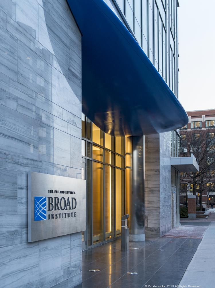 The Broad Institute's new 75 Ames Street location is next to its main 7 Cambridge Center headquarters.
