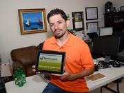 FlexReceipts CEO Tomas Diaz has taken his company's digital receipts to about 4,000 stores.