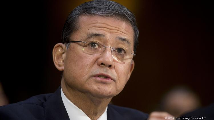 "Veterans Affairs Secretary Eric Shinseki said it's ""reprehensible"" that veterans were left off waiting lists at the VA's Phoenix health care system."