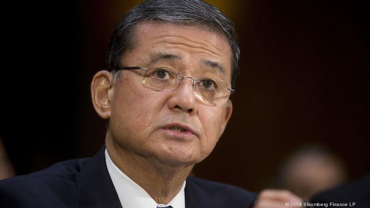 Secretary of Veterans Affairs Eric Shinseki wasn't asked to resign by President Barack Obama despite a scandal over long wait times and alleged record falsification at VA hospitals.