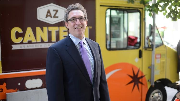 John Levy is co-owner of Andrew Zimmern's Canteen food truck. He recently joined law firm Nilan Johnson Lewis.