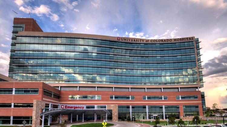 The University of Colorado Hospital at the Anschutz Medical Campus in Aurora. The new emergency room and 12-story tower expansion opened in April 2013.