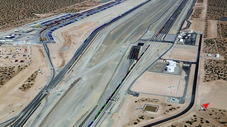 Union Pacific Railroad has just completed the initial build-out of its $400 million Santa Teresa rail facility, and the size and scope of work done since 2011 is unlike anything else in the state.