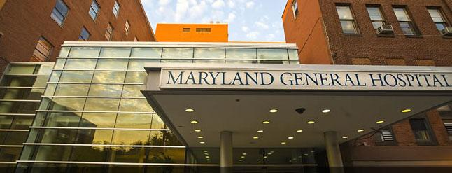 Maryland General Hospital sits on Baltimore's west side.