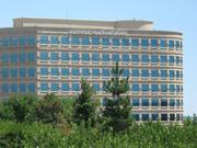 The Catholic Health Initiatives headquarters building in the Inverness office park in Arapahoe County, Colorado, near Denver.