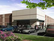 A rendering of CSM Corp.'s planned 270,000-square-foot bulk warehouse facility in Rogers.