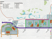 The Edina City Council approved the redevelopment plan for Pentagon Park in Edina this week. (Click here to open a larger version of this image in a new tab.)